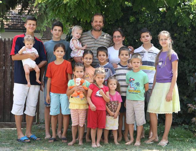 frank csalad 14 gyerek